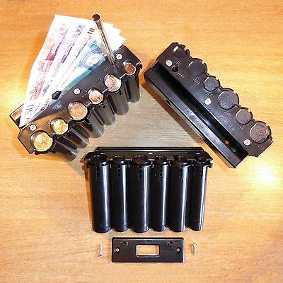 CASH DISPENSER HIGH CAPACITY *NEW £1* coin holder change taxi cab bus driver BIG