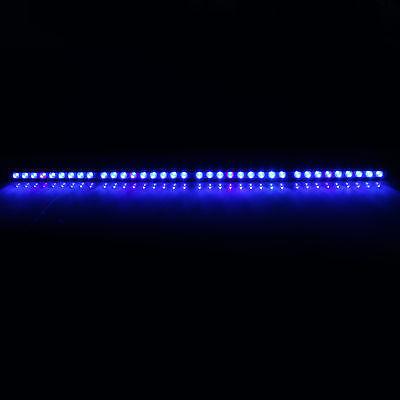 108W led aquarium light bar blue 470nm spectrum strip for fish reef coral tank
