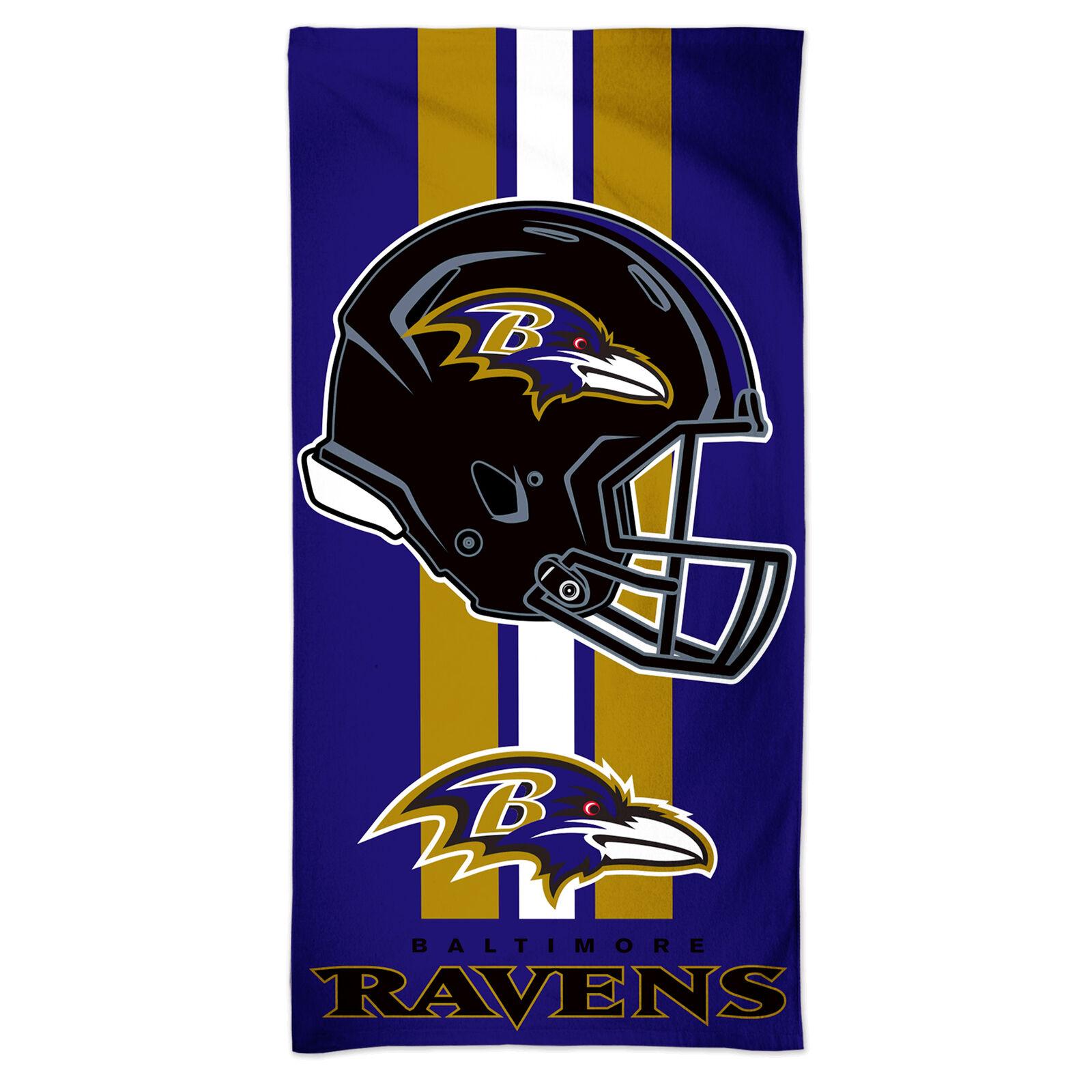NFL Strandtuch 150x75 cm Baltimore Ravens