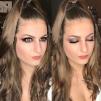 Summer Makeup and Hair ! Sweatproof! Airbrushing available 50+