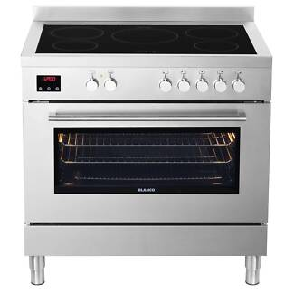 BLANCO 90cm Stainless Freestanding Cooker with Induction Cooktop Seven Hills Blacktown Area Preview