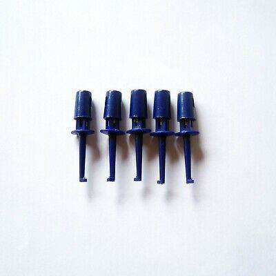 20 Pcs Mini Grabber Smd Ic Test Clip Hook Probe Clamp Jumper Probe Tester P57