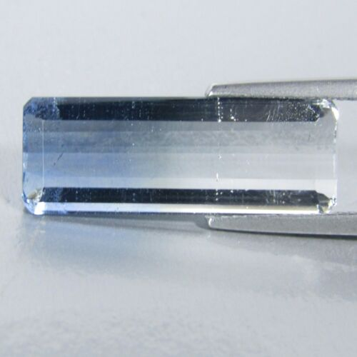 13.30Cts 100% Natural Superior BI-Color Fluorite Emerald Cut Loose Gemstone VDO