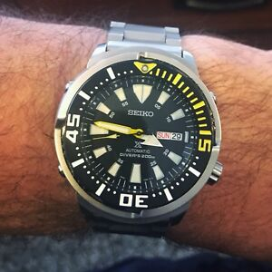 >>> Seiko SRP639 Automatic Yellowfin Monster Tuna <<<