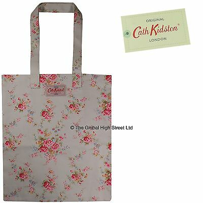 cath kidston buch tasche gewaschen rosen stein baumwolle 100 authentische bnwt ebay. Black Bedroom Furniture Sets. Home Design Ideas
