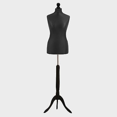 Kyпить Female Tailors Dummy Black Dressmakers Fashion Students Mannequin Display Bust на еВаy.соm
