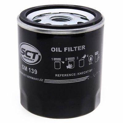 SCT Ölfilter SM139 Filter Motorfilter Servicefilter Anschraubfilter Dichtung