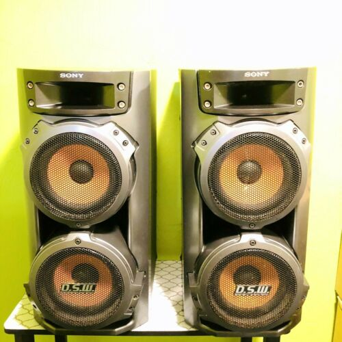 Sony DSW LBT-ZX66i Muteki H-Fi Music System SS-ZX66i (Speakers Only) Tested
