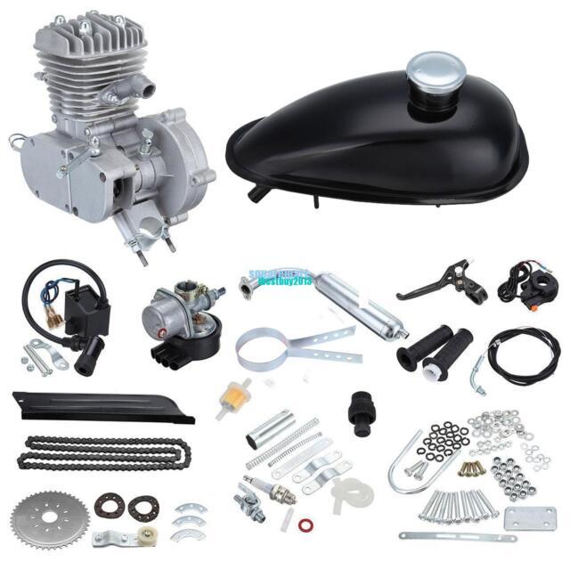 50CC Bicycle motor Bike Engine Kit Friction Plate/Dry 2-stroke 38km/hour DE