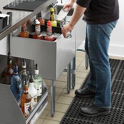 18 X 24 Underbar Stainless Steel Restaurant Bar Ice Bin - 77 Lb. Ice Capacity