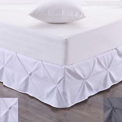 Pintucked Drop (Hudson Pintuck Bed skirt Ruffle 14