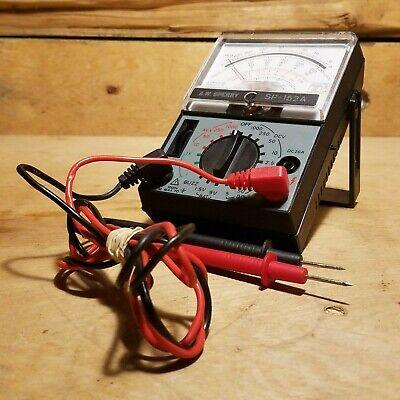 A W Sperry Analog Multimeter Sp - 152a - Swanky Barn