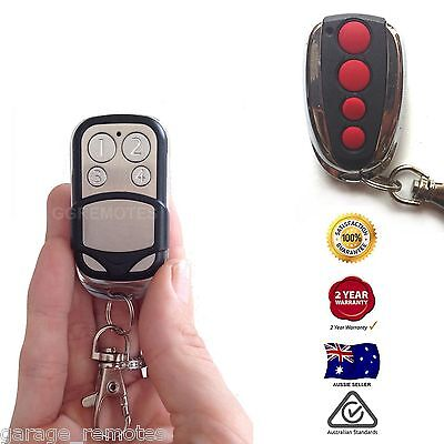 Garage Door Opener Keyfob Fob Compatible with ACDC Red Button Remote Control