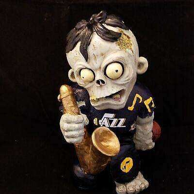 UTAH JAZZ ZOMBIE THEMATIC FIGURINE Halloween new in box