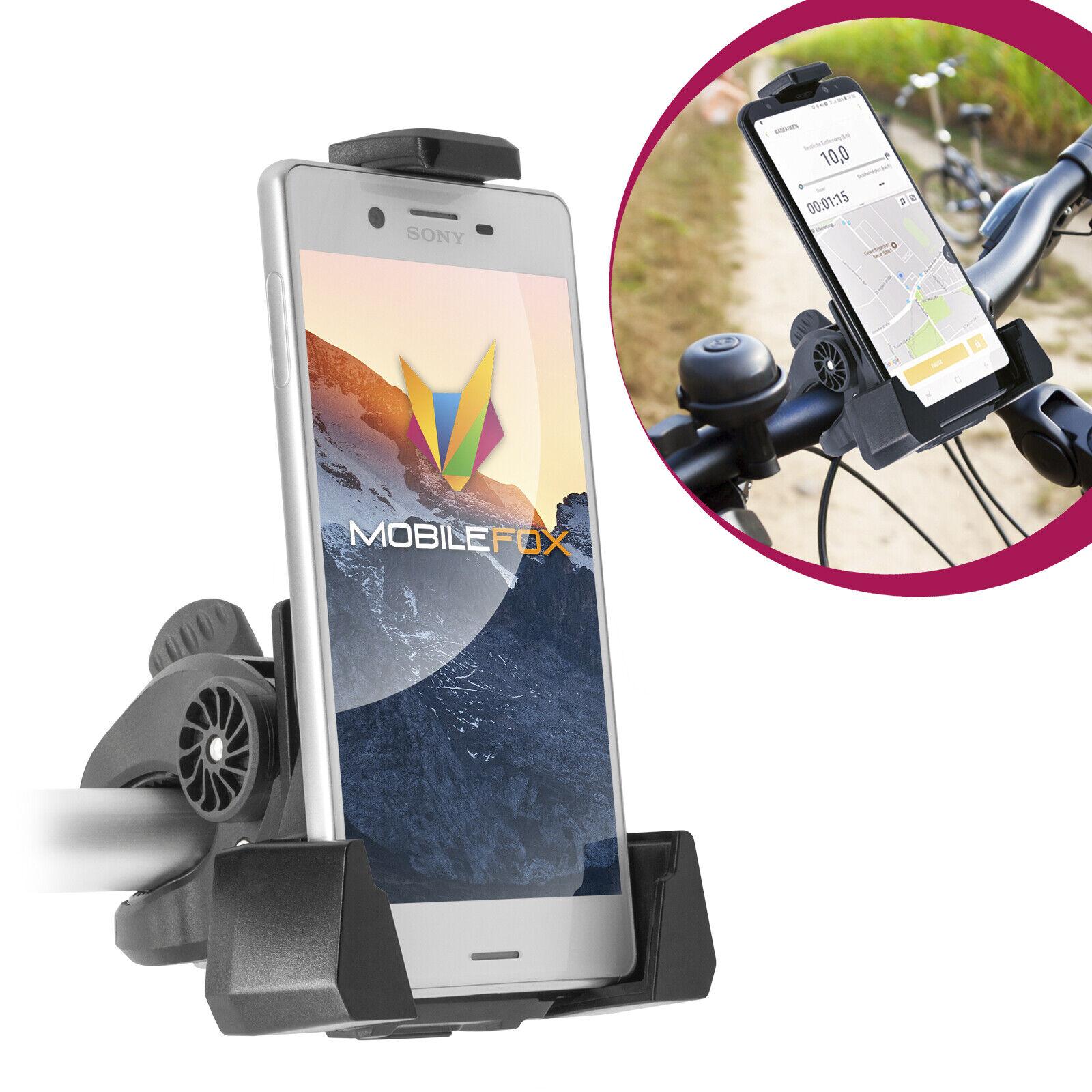 Bicycle Bike Mount Handlebar Phone Holder Grip 360° SONY XPERIA XZ