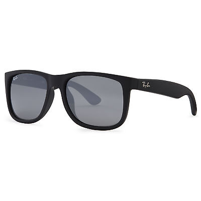Ray-Ban Justin Color Mix Sunglasses (Black/Gray Mirror)