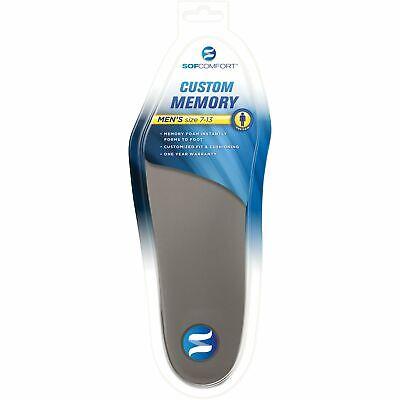 SOFCOMFORT CUSTOM MEMORY Shoe Inserts - Men's Sizes 7-13