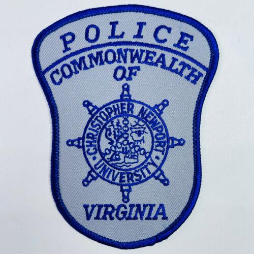 Christopher Newport University Police Newport News Virginia VA Patch (A2)