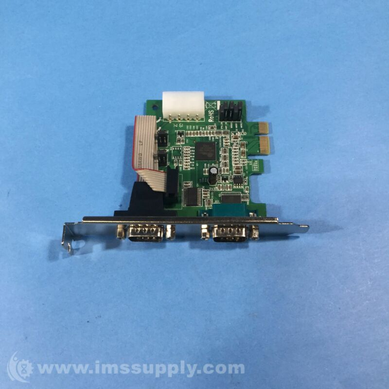 StarTech PSI Express-to-RS232 Serial Card Adapter Green PEX2S952