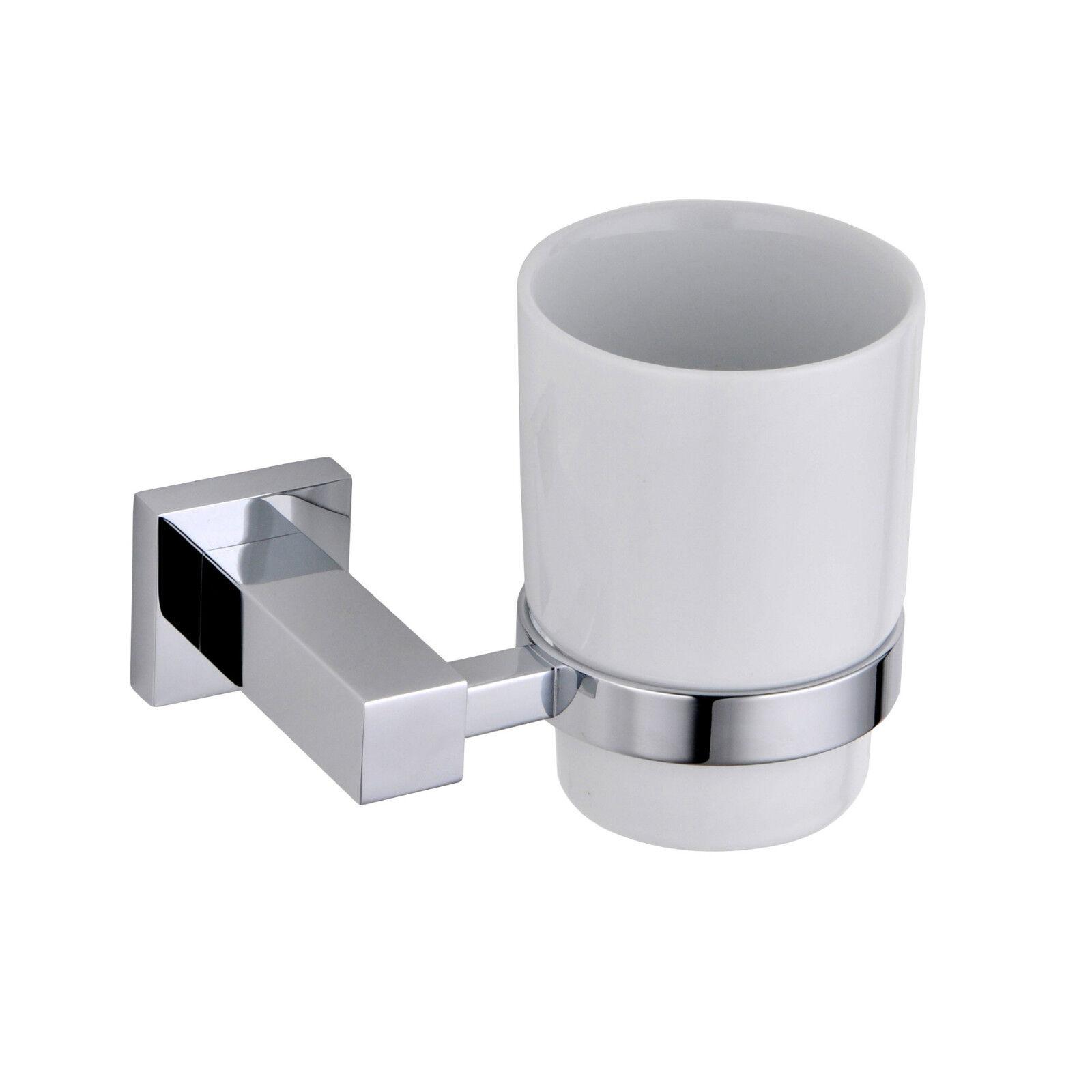 square chrome bathroom accessories square chrome bathroom accessories single tumbler ebay