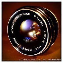 Zuiko 50mm f/1.8 PRIME LENS OR- Zuiko 50mm f/1.4 PRIME LENS + WARRANTY Adelaide CBD Adelaide City Preview