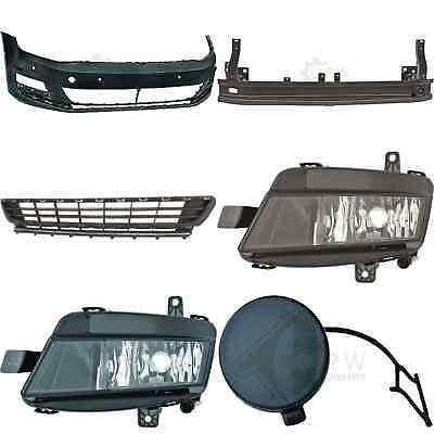 Parachoques Delantero Tirantes+Accesorio+Niebla Para VW Golf 7 5G