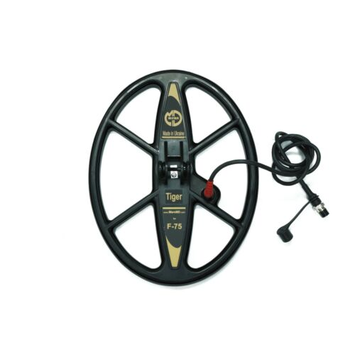 """Mars Tiger 13""""x10"""" DD WaterproofSearch Coil for Fisher F75 Metal Detector"""