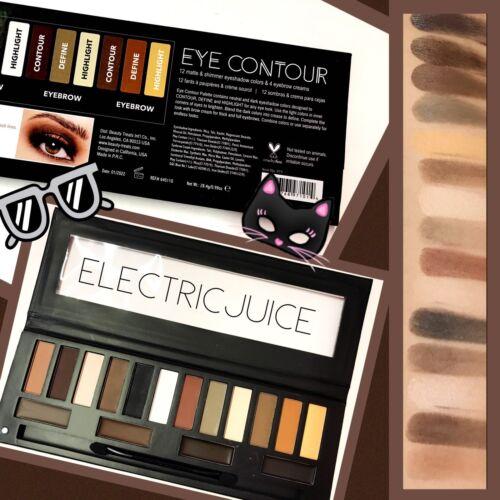 Beauty Treats Eye Contour Palette Eyeshadow Eyebrow Eye Brow