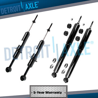 All 4 New Front  Rear Complete Shock Absorber Set for 4Runner wo Adj Susp