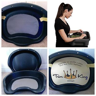 TRIM KING (Like Trim Bin) Seed & Pollen Separator Hydroponics Trimming Lap Tray