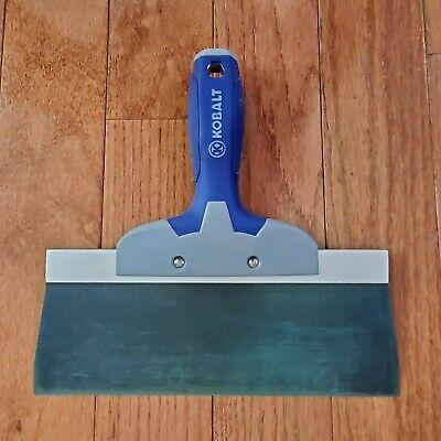 Kobalt Drywall Blue Steel Taping Knife 10 Blue Handle Preown Gently Used Clean