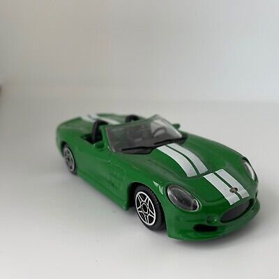 Burago 1 43 scale model Shelby Series One diecast rare toy car collector green