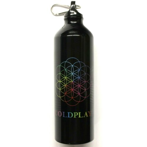 Coldplay Flower Of Life Logo A Head Full Of Dreams Tour Aluminum Water Bottle