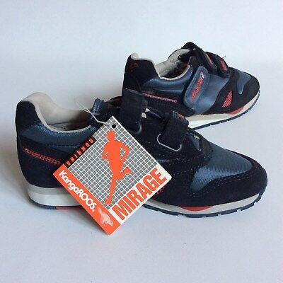 6df812aeab70 KangaROOS Childrens Running Sneakers Original Pockets Blue Size USA 1 1 2