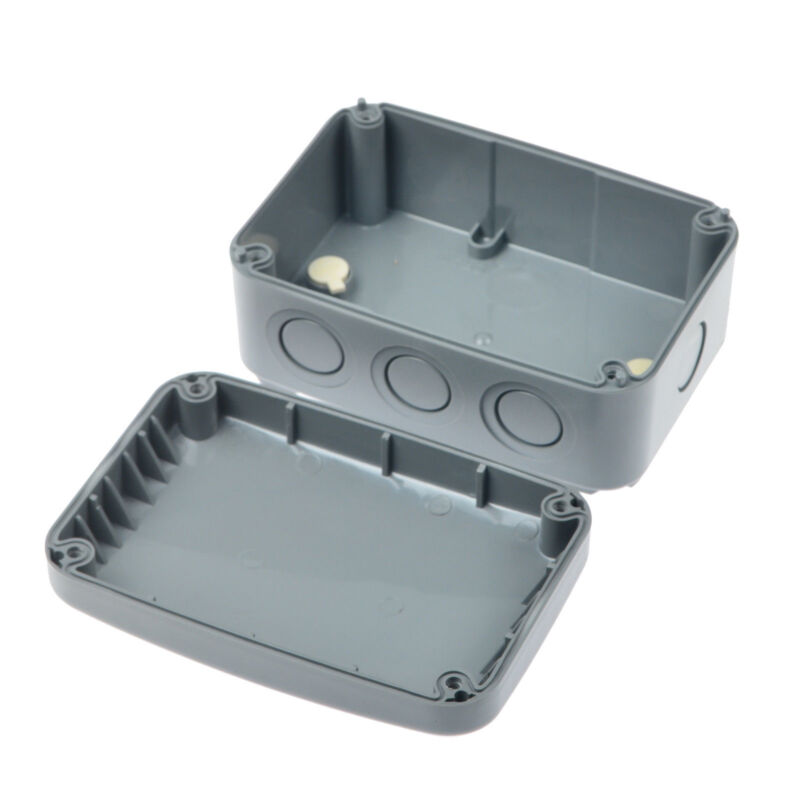 Waterproof Junction Box Cable Wiring Connector Enclosure Case IP66 125x86x62mm