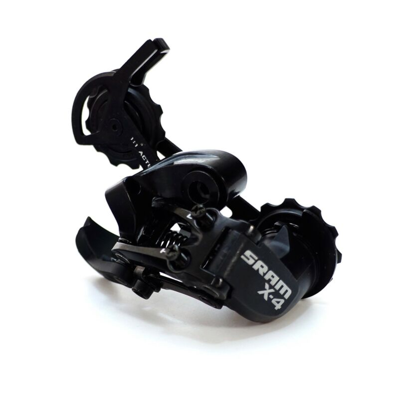 SRAM X4 7/8/9-Speed Rear Derailleur Hybrid Mountain Bike RD Long or Medium Cage