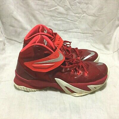 best cheap 8a675 99d5a NIKE LEBRON JAMES SOLDIER VIII BASKETBALL SHOES   MULTI COLOR ( SIZE 8.5 )  MEN S