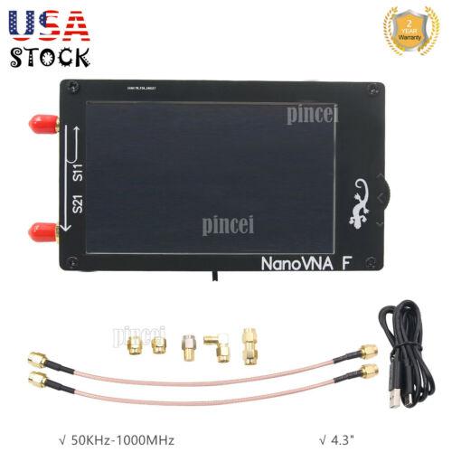 """4.3"""" LCD HF VHF UHF VNA Vector Network Analyzer Kit 50KHz-1000MHz NanoVNA-F"""