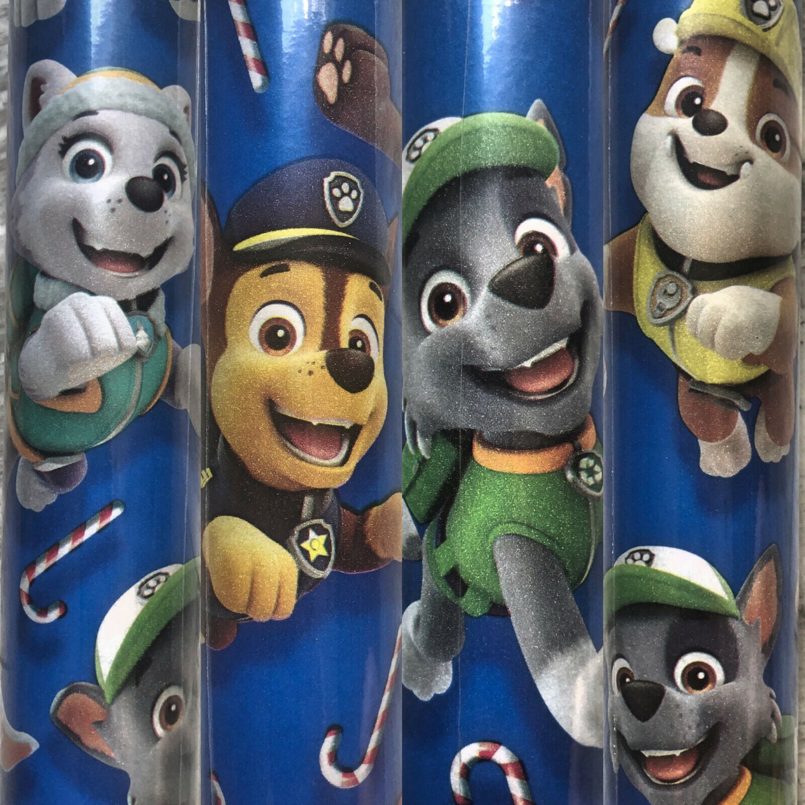 1 Large Roll PAW Patrol Christmas Gift Wrapping Paper 70 sq