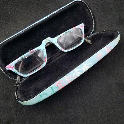 Reading Glasses Painted Sea Ocean Beach Fish Aquarium Scene Case Eyewear](Beach Reading)