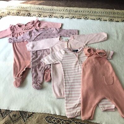 Cute baby girl clothes bundle 0-3 months