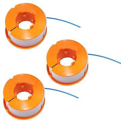 3X Desbrozadora Bobina E Hilo Para Bosch ART26 Combitrim Corte Fácil