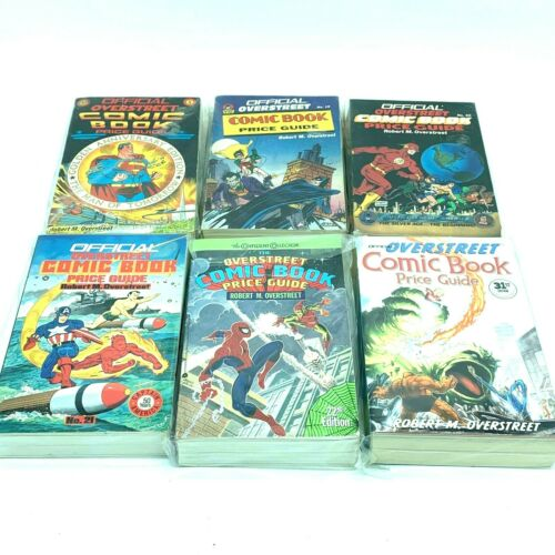 Overstreet Comic Book Price Guide Lot of 6 Numbers 18 - 22 and 31