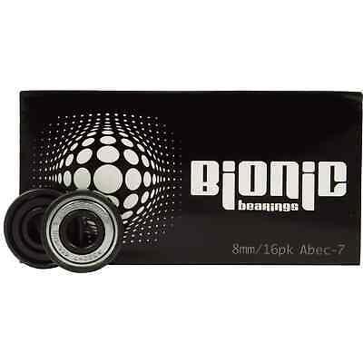 Bionic Abec 7 Rodamientos 8mm (Paquete De 16)