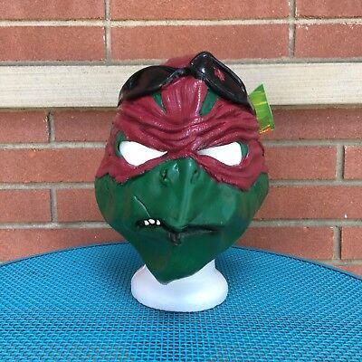 Raphael Teenage Mutant Ninja Turtles Mask TMNT Halloween Adult Costume 3/4