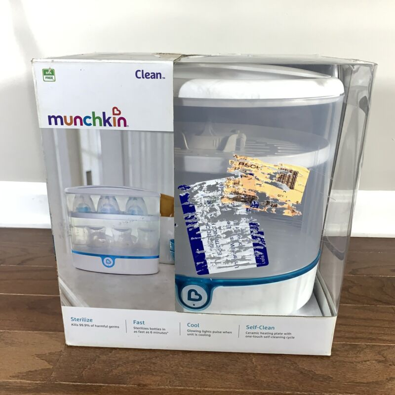 Munchkin Clean Electric Bottle Sterilizer White