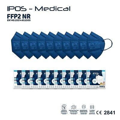 20Stk FFP2 NR Kindermaske,Blau,Mundschutz,CE Prüfstelle 2841,einzeln verpackt