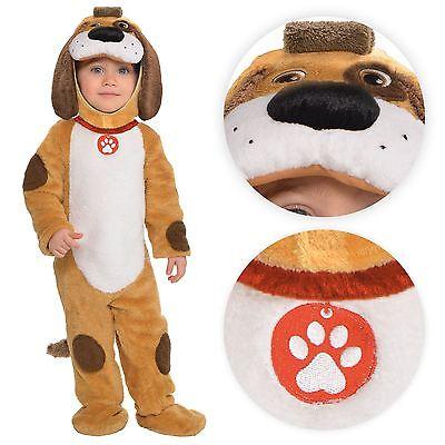 pielt Welpe Welpe Tier Plüsch Party Kostüm UK (Welpe Kleinkind Kostüm)