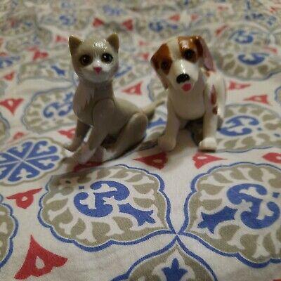 Barbie Pet Doctor Spotted Dog Grey Cat Figures 1995 Mattel