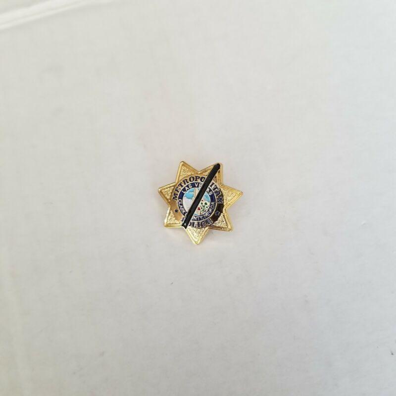 Las Vegas Metropolitan Police Clark County Lapel Pin vintage 1973 LVMPD